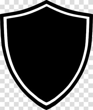 pelindung logo, pelindung hitam, logo pelindung putih dan hitam PNG clipart