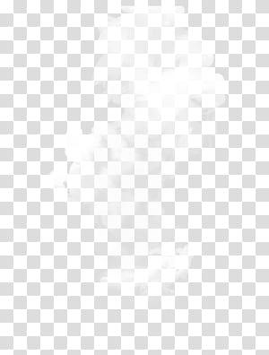 Tekstil Titik Titik Hitam dan Putih, Daquan dinamik putih, ilustrasi asap putih png