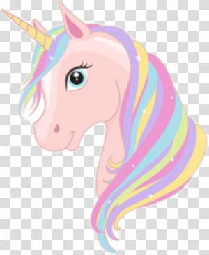 pink dan ungu unicorn, unicorn, unicorn pink png