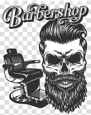 barbershop, Ilustrasi Beard Drawing Hipster, man avatar PNG clipart