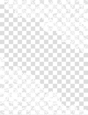 Pola Titik Sudut Hitam dan Putih, Renda png