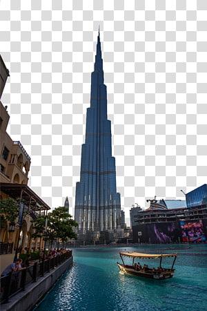 bangunan bertingkat rendah, Burj Khalifa Burj Al Arab Hotel Building Dubai, Burj Dubai s png