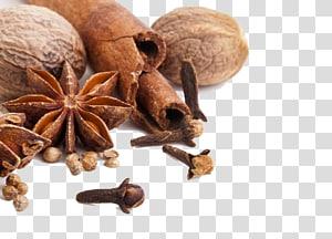 staranies coklat dan kayu manis, rempah-rempah masakan India Condiment Seasoning Herb, rempah-rempah dapur png