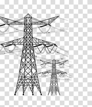 Kawat voltase tinggi Kabel voltase tinggi Kabel listrik, batang kawat bertegangan tinggi, dan bahan kawat draf png