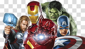 Ilustrasi Iron Man, Captain America Black Widow Clint Barton Iron Man, Avengers png