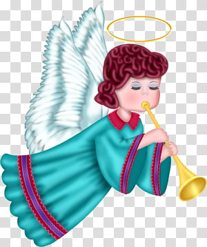 ilustrasi malaikat, Malaikat Kerub, Malaikat Lucu dengan Jubah Biru Gratis png