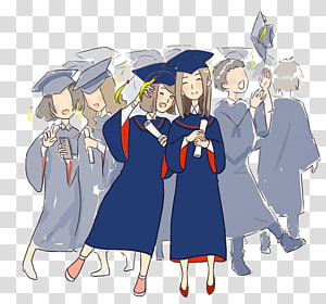 ilustrasi wisudawan, upacara Wisuda Mahasiswa Estudante, wisudawan png