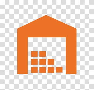 logo rumah jeruk, Gudang Logistik Ikon Komputer Pabrik, Inventaris Gudang Gratis png
