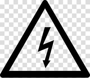ilustrasi ikon tegangan tinggi, Kerusakan listrik Bahaya Listrik Stiker tegangan tinggi, listrik png