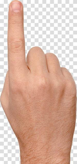 Ikon Jari, Sentuhan jari, tangan seseorang mengarah ke atas PNG clipart