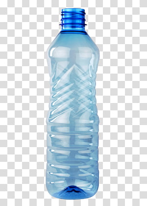 kosong botol plastik bening biru, botol Plastik botol Air Polyethylene terephthalate, Botol Plastik png