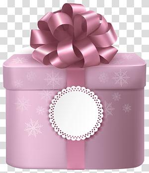 ilustrasi kotak merah muda, Kotak Hadiah Merah Muda, Kotak Hadiah Merah Muda yang Lucu dengan Pita Merah Muda png