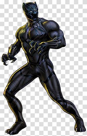 Black Panther, Black Panther Marvel: Avengers Alliance Black Bolt Marvel Cinematic Universe Marvel Comics, black panther png