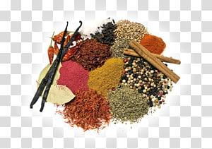 bubuk berbagai macam warna, masakan India Mortar dan alu Suribachi Spice Bahan, Teh, Herbal, Rempah-rempah png