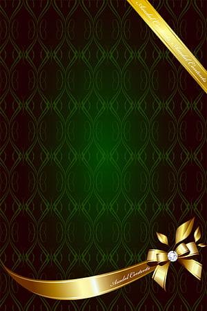 Ilustrasi bingkai pita berwarna emas, Idul Fitri Idul Fitri Ramadhan Muslim, Tekstur Retro PNG clipart