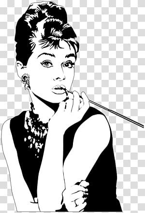 Audrey Hepburn, Jurnal Desainer: Dengan Kutipan Desainer, Audrey Hepburn Notebook Mode Jurnal Sarapan di Tiffany \ 's, Aktris png