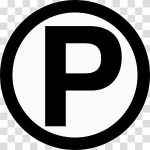 ilustrasi huruf hitam putih P, izin parkir Cacat Parkir, Parkir Svg Gratis PNG clipart