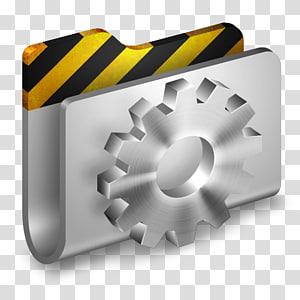 ilustrasi gigi abu-abu, perangkat keras sudut, Folder Pengembang Logam 2 png