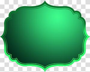 ilustrasi bingkai hijau, Sumber Daya kotak teks, Kotak Teks png