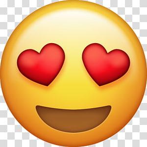 mata hati emoji, Emoji Hati iPhone Cinta, emoji png