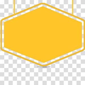 Bingkai, Judul bingkai, latar belakang tanda kuning png