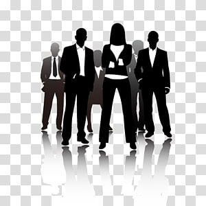 ilustrasi tiga orang berdiri, iklan Perusahaan Orang Bisnis png