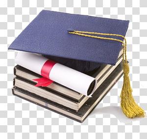 mortarboard hitam, Gelar Diploma Sarjana Sarjana Akademik, Cap topi akademis png