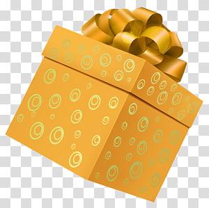 screenshot kotak hadiah oranye, Kotak Hadiah, Kotak Hadiah Kuning png