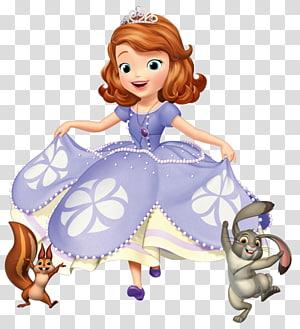 sophia ilustrasi pertama, minnie mouse tinker bell mickey mouse ratu miranda disney princess, princess sophia PNG clipart