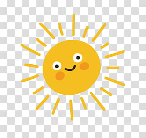 Kartun, matahari, matahari artwokr PNG clipart