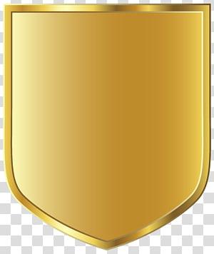 Kertas Grafis, Templat Lencana Emas, ilustrasi perisai emas PNG clipart