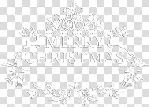 Selamat Hari Natal, Pola Kertas Hitam dan Putih, Selamat Hari Natal Putih PNG clipart