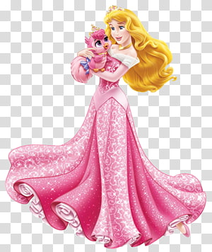 Putri Aurora Cinderella Ariel Rapunzel Putri Salju, Putri Disney Aurora dengan Burung Lucu, ilustrasi Putri Aurora png