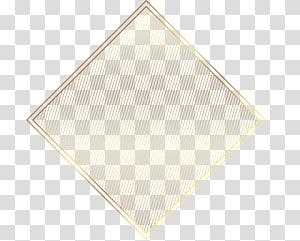 logo segitiga, Pola Segitiga Beige, label emas dicat png