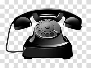 ilustrasi telepon putar hitam, Ikon Telepon, Ikon telepon hitam antik png