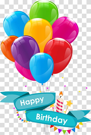 Ilustrasi Selamat Ulang Tahun, Undangan Pernikahan Selamat Ulang Tahun untuk Anda, kartu ucapan, kartun Balon Ulang Tahun png