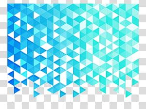 ilustrasi kristal hijau dan putih, Fundal Segitiga, latar belakang Segitiga biru png