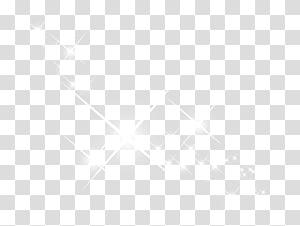 Elemen efek bintang putih png