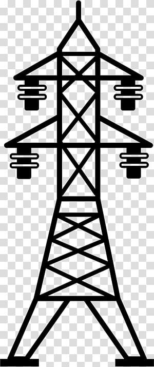 Transmisi tenaga listrik Menara transmisi Saluran listrik overhead, tegangan tinggi png
