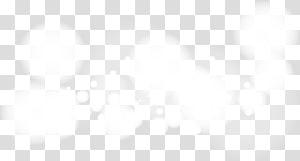 ilustrasi awan putih, Hitam dan putih, Efek awan putih kabur png