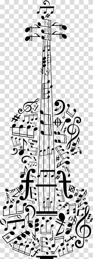 biola penuh dengan ilustrasi seni catatan, Poster Violin concerto Catatan musik, biola png