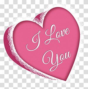 latar belakang merah muda dengan aku mencintaimu hamparan teks, Valentine Day Heart, Valentines Day Pink Heart with Lace png