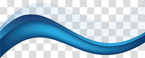 Merek Biru, latar belakang biru kartun dengan garis bergelombang, karya seni gelombang biru png