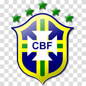 Dream League Soccer Tim sepak bola nasional Brasil Logo FIFA World Cup, brazil, logo CBF dengan latar belakang biru png