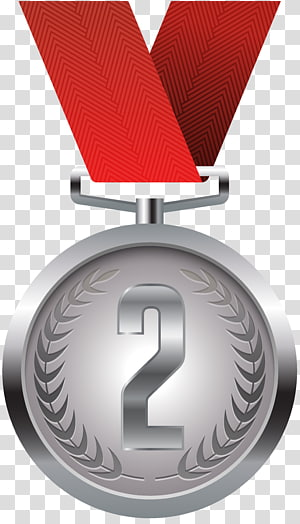 medali tempat kedua, medali Emas medali Perak, Medali Perak png