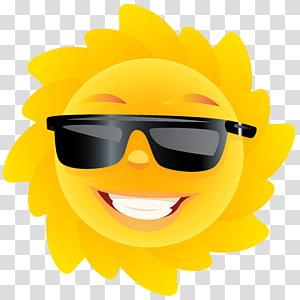 ilustrasi matahari, T-shirt Tabir Surya Pakaian pelindung Matahari Cuteness, Cute Sun PNG clipart