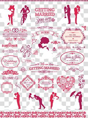 Undangan pernikahan, bahan pernikahan, latar belakang biru dengan overlay teks menikah png