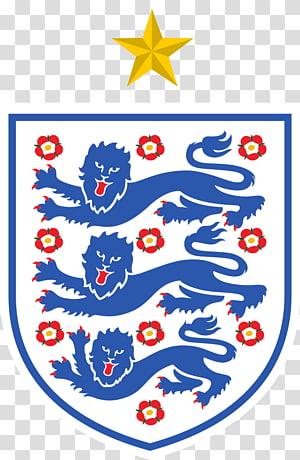 logo putih dan biru, Dream League Soccer Tim sepak bola nasional Inggris 2018 Piala Dunia FIFA Tim nasional Inggris U-21, Inggris png