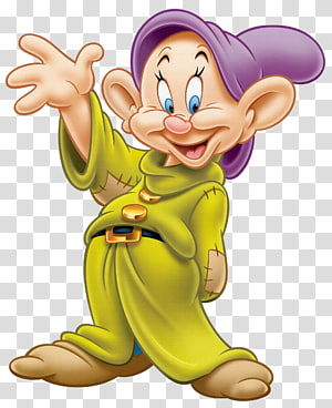 Dopey Mickey Mouse Tujuh Dwarf, Dopey, Snow White dan Tujuh Dwarf PNG clipart