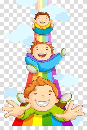 Kartu Ucapan Selamat Ulang Tahun Brother Raksha Bandhan Cinta, Anak-anak, anak laki-laki pada ilustrasi pelangi png